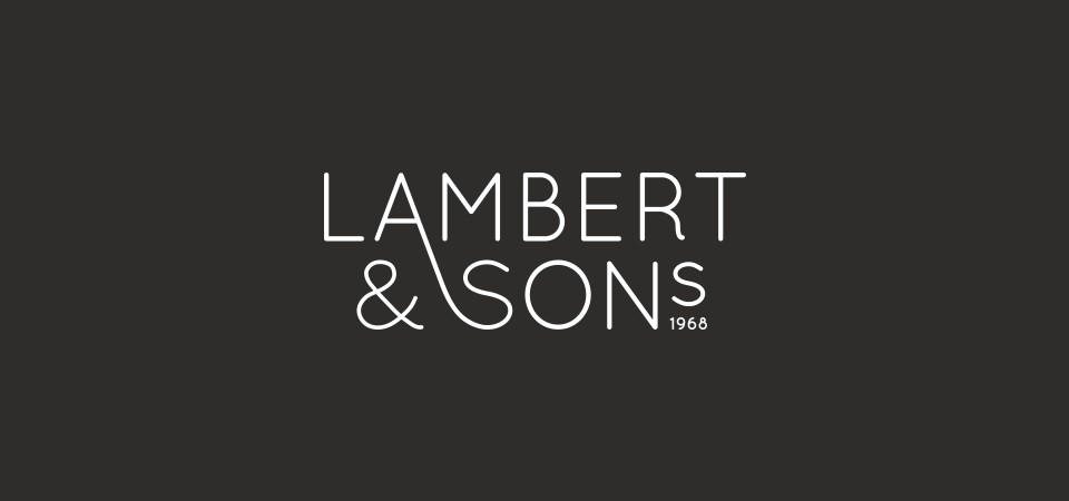 workbydan_LambertandSons_LogoWhiteOut2